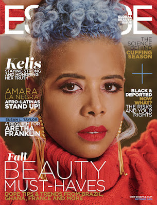 Kelis Struts Essence's Global Beauty Issue!