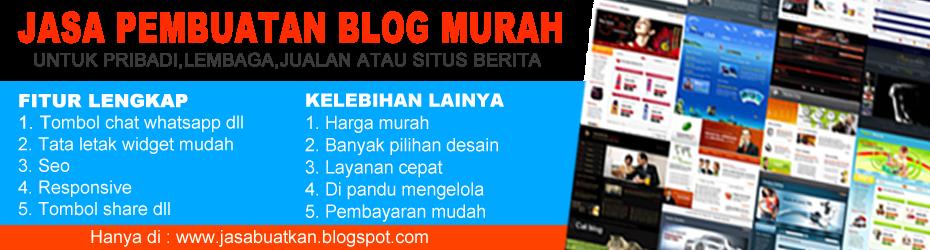 JASA BUAT BLOG WEBSITE LANDINGPAGE MINISITE TOKO ONLINE MURAH TERPERCAYA