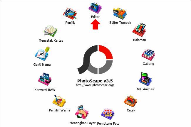 Cara Mengatur Cahaya Gambar di PhotoScape