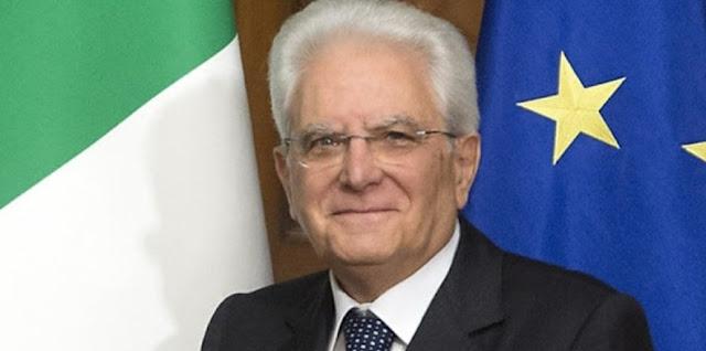 الرئيس الإيطالي يهنئ رئيس تونس  المنتخب قيس السعيد.