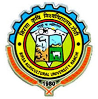 Birsa Agricultural University recruitment  2017  for  various posts  apply online here