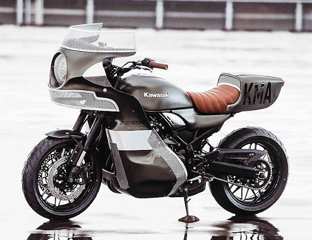 The Goose - Kawasaki Z900rs Mad Max inspired throwback from Deus Customs