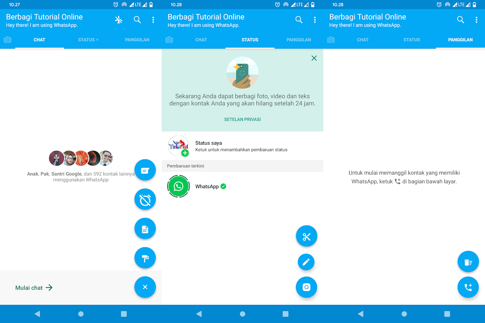 2 WhatsApp Tanpa Aplikasi Cloning
