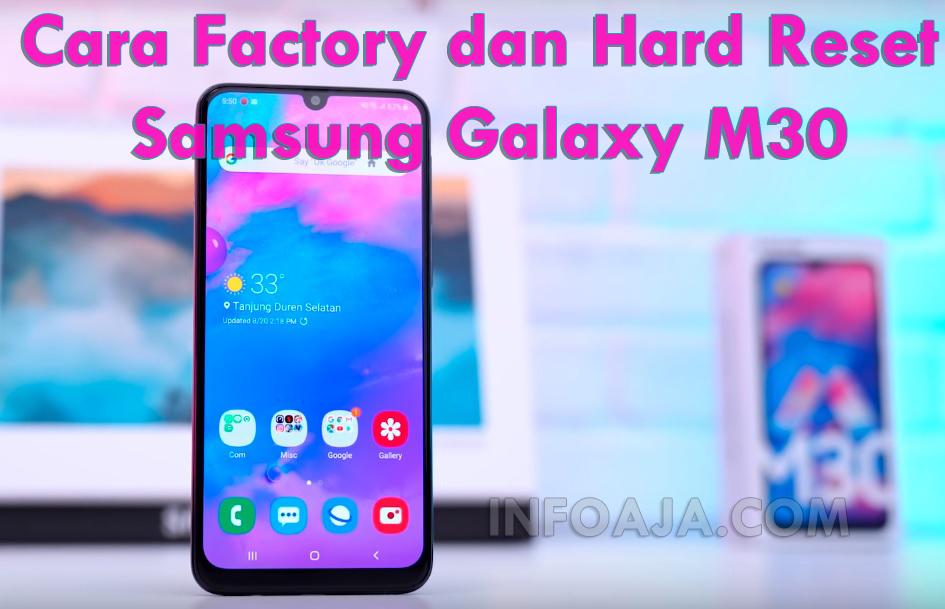 Hard Reset Samsung Galaxy M30