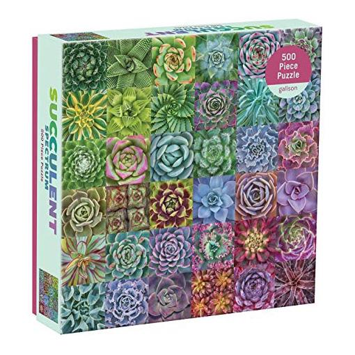 Succulent plant jigsaw puzzle