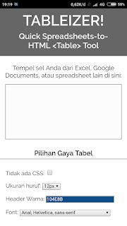 Cara mudah membuat tabel di postingan blog tanpa ribet edit HTML
