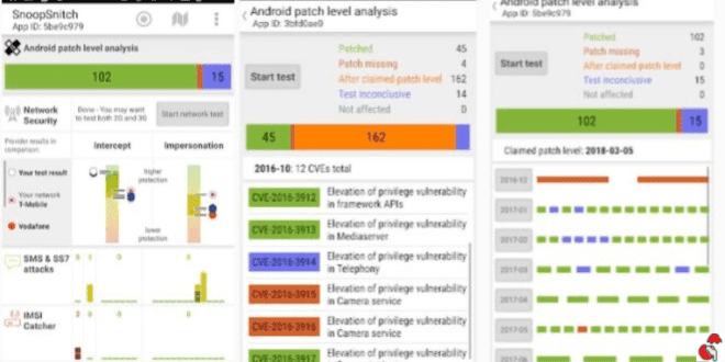 Analyze your Mobile Network Security with Snoopsnitch Android App