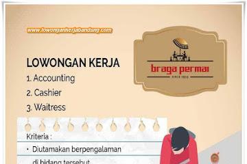 Lowongan Kerja Bandung Karyawan Braga Permai Bandung