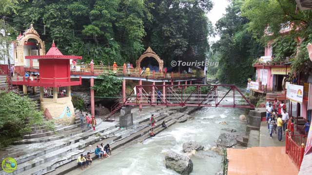 Tapkeshwar Temple River