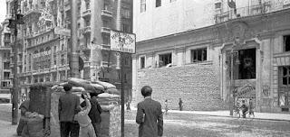 Edificio Telefónica en 1936