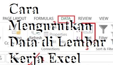 Cara Mengurutkan Data di Lembar Kerja Excel