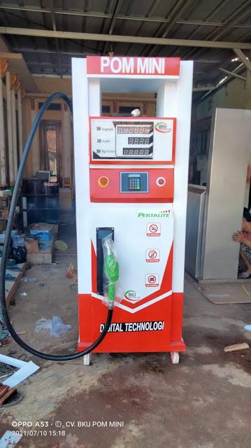 Harga Pom Mini Digital 1 Nozzle Isi 100 Liter