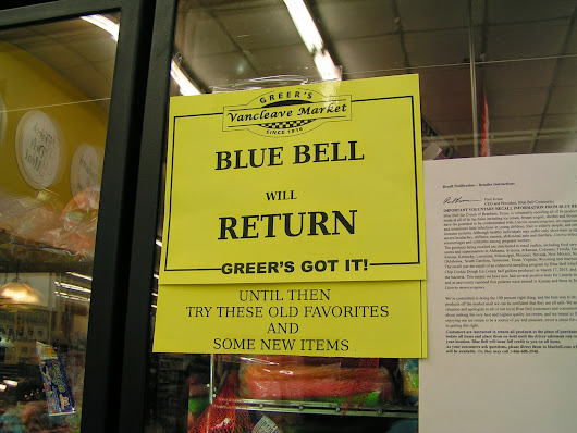 Missing Blue Bell in Vancleave