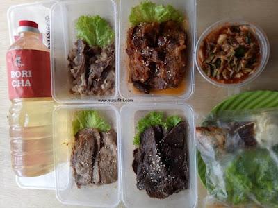 Menikmati Paket Ramadhan Korean BBQ Fat Oppa