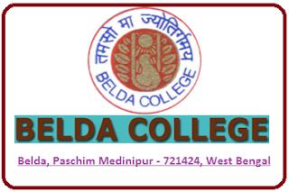 Belda College, Belda, Paschim Medinipur - 721424, West Bengal