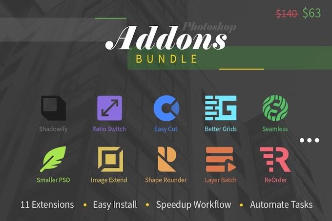 Photoshop Add-Ons Bundle[CreativeMarket][4342434]
