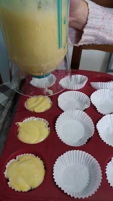 Petits moelleux au citron bergamote ;Petits moelleux au citron bergamote