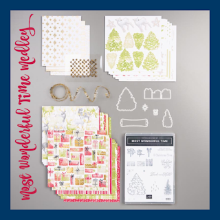 Stampin' Up!'s Most Wonderful Time Medley