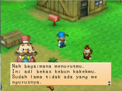 Harvest Moon Back To Nature Bahasa Indonesia PSX