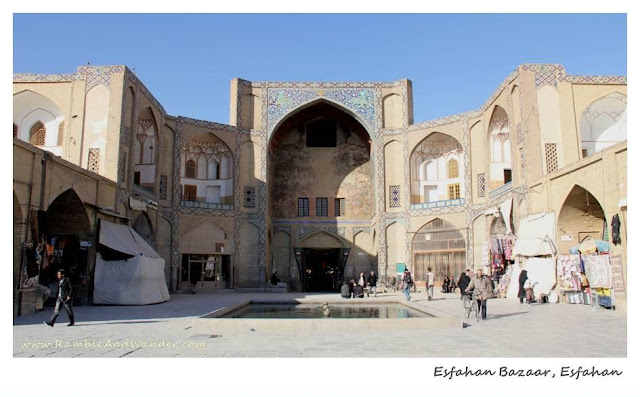 Iran: Grand Bazaar of Esfahan - Ramble and Wander