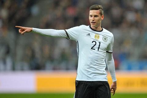 Julian Draxler là người nổi bật của đội tuyển Đức.