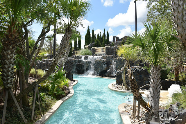 Four Seasons Resort Orlando at Walt Disney World Resort Park-View Suite Family Travel Guide lazy river