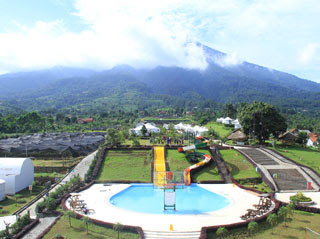 Mongolian Camp The Highland Park Resort Bogor