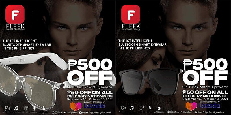 FLEEK Smart Eyewear now available in PH—priced at PHP 4,999!
