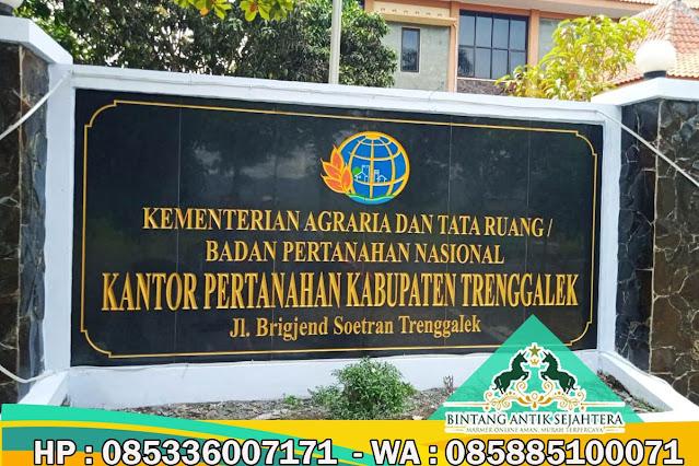 Papan Nama Sekolah, Papan Nama Marmer Tulungagung, Papan Nama Marmer Terbaru 2021