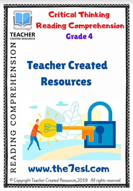 Critical Thinking Reading Comprehension Grade 4