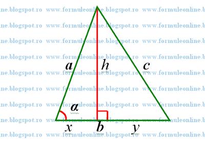 demonstratia teoremei lui Pitagora formuleonline.blogspot.com