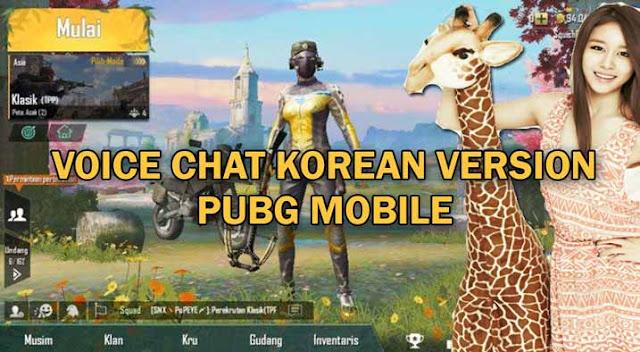 Cara Mengubah Suara Voice Chat Bahasa Korea di PUBG Mobile