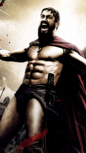 "Strength Gerard Butler ""300"""