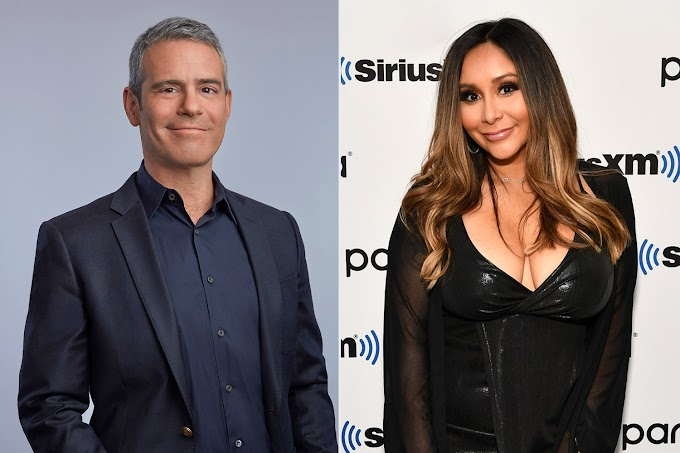 """Andy Cohen Shuts Down Rumors That Nicole 'Snooki' Polizzi Is Joining 'RHONJ' — But Admits He Is Open To The Idea; Says """"It's Something To Keep Our Eyes Out For"""""""