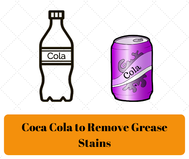 How to get grease stains out of clothes - Coca cola