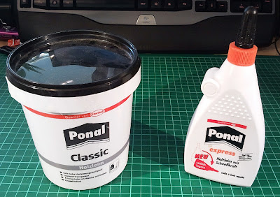 White/Wood/PVA glue in different sizes