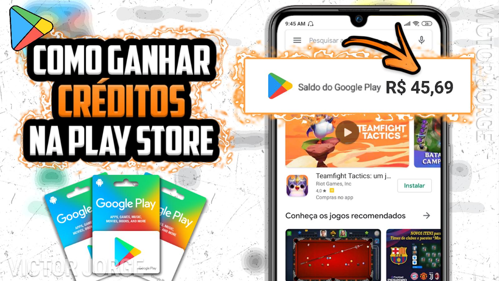 MELHOR APP para GANHAR SALDO [CRÉDITOS] na Google Play Store - 2020