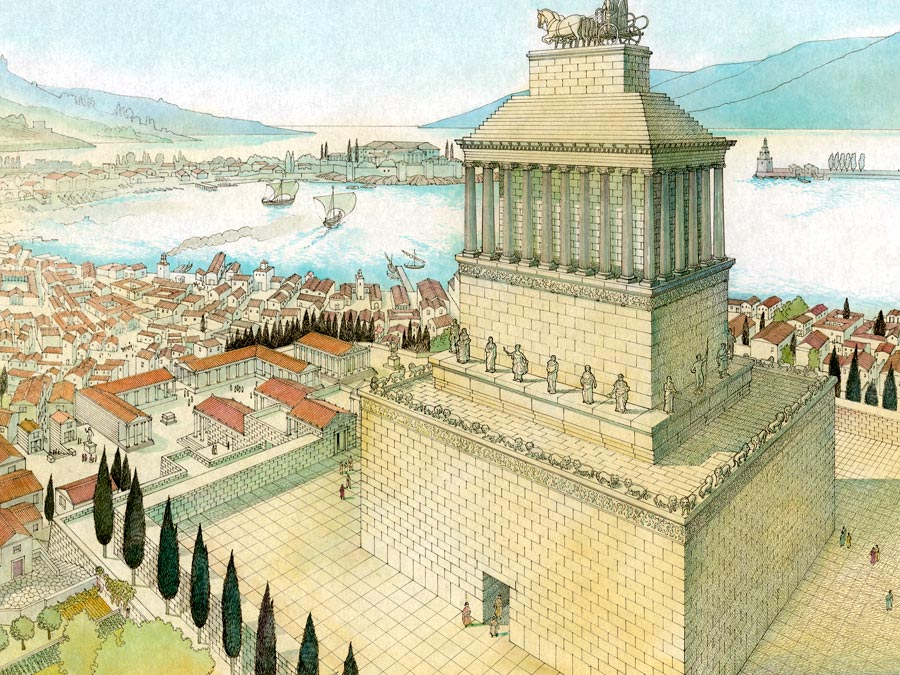 Mausoleum at Halicarnassus to be restituted - The ...