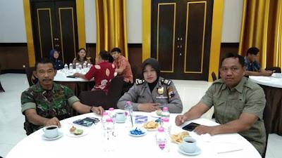 Pj Kasdim 0706/Temanggung Hadiri Rapat Koordinasi Pengawasan Dengan Mitra Kerja Kab.Temanggung