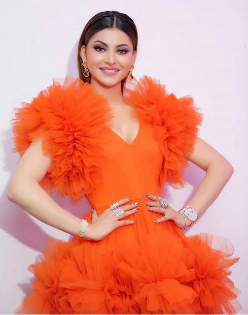 Urvashi Rautela HD Wallpapers in Orange | Other HQ Pics 2020