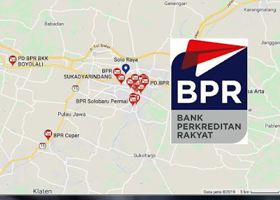 daftar BPR di Surakarta, Klaten, Sragen, Sukoharjo, Wonogiri