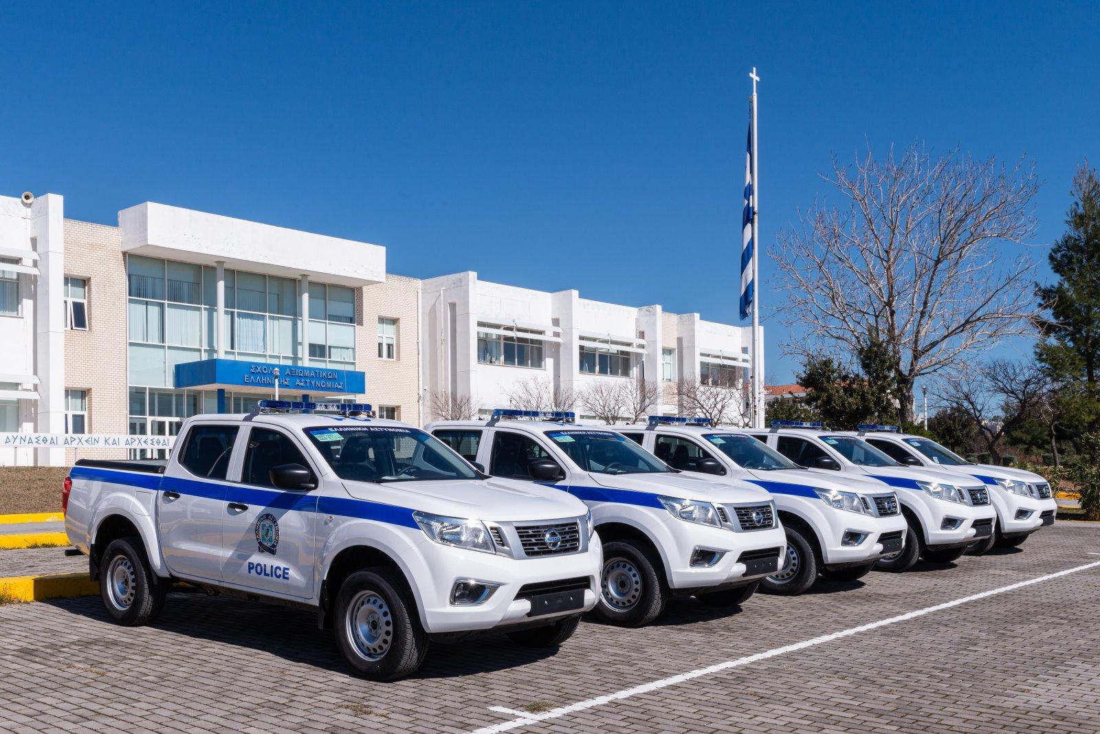 ΑΜΘ: Ενισχύεται ο στόλος της Αστυνομίας με 6 νέα οχήματα [ΦΩΤΟ]
