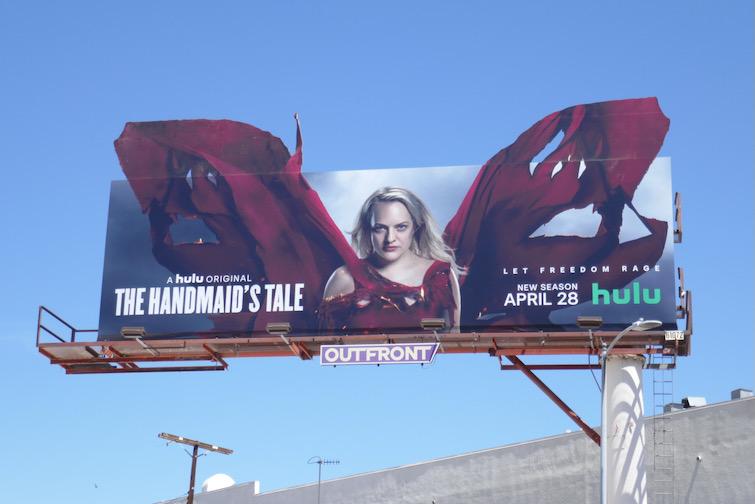 Handmaids Tale season 4 extension billboard