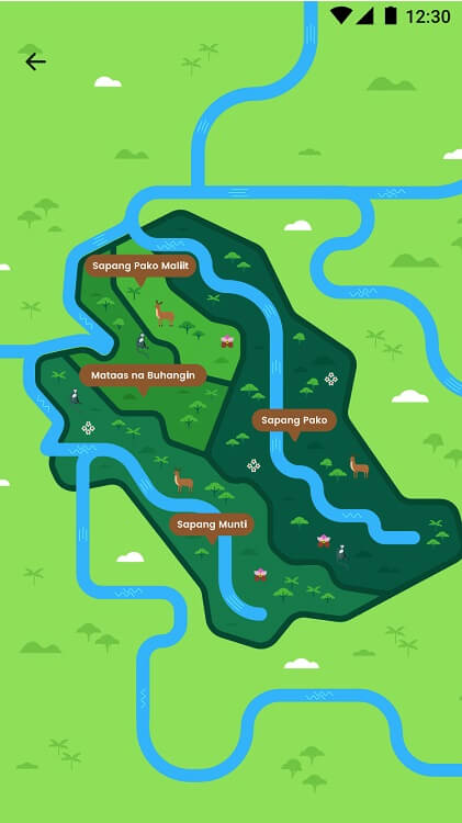 GCash Forest Map