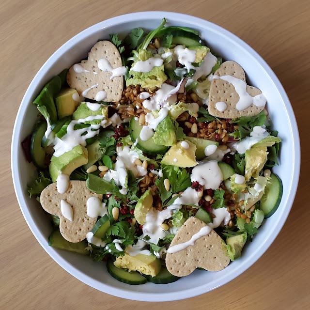 persian green salad