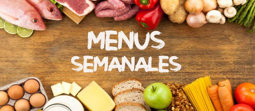 MENUS SEMANALES DIETA DISOCIADA COMPLETOS