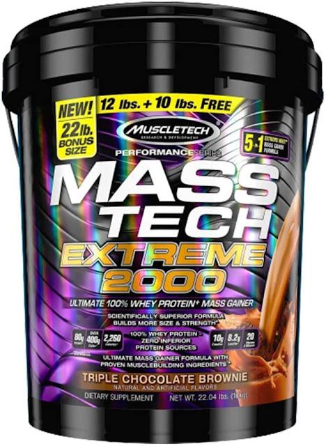 Mass Tech Mass Gainer Protein Powder