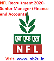 NFL Recruitment 2020, Senior Manager, Finance and Accounts