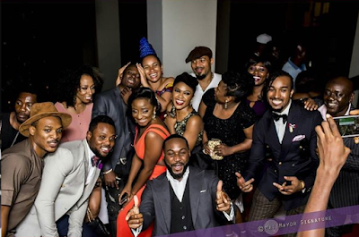 stars at the AMVCA 2016 after party