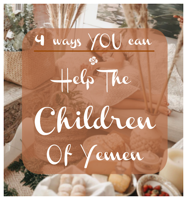 4 Ways You Can Help The Children Of Yemen